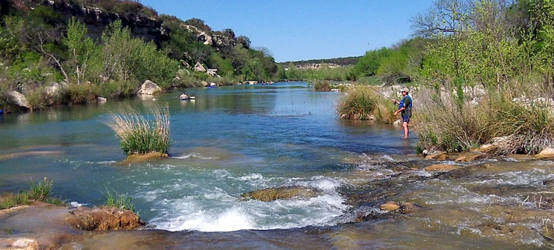 River access and conservation areas for Lake san marcos fishing