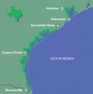 Coastal cities map