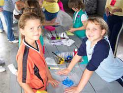 Kiddos paint