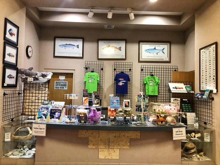 Sea Center Texas Gift Shop