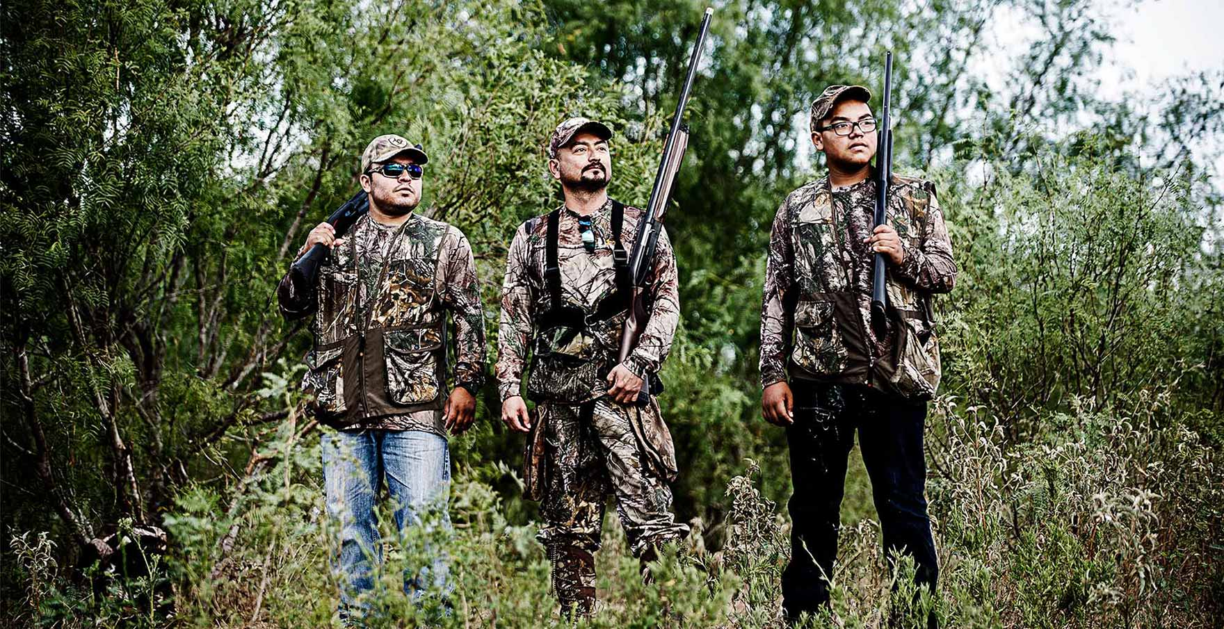 Types of hunting: a selection of sites