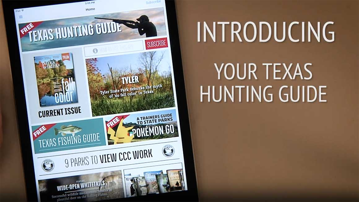 Texas Hunting Guide from Texas Parks & Wildlife Magazine