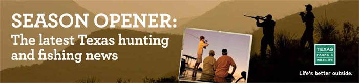 Tpwd hunting seasons for Tpwd fishing license