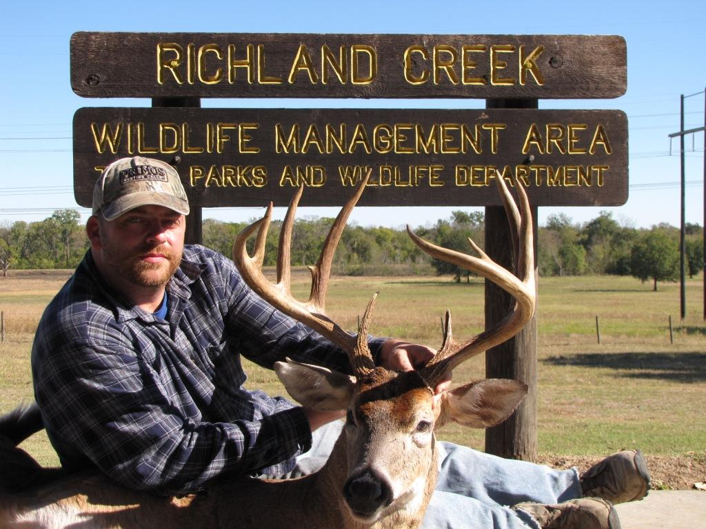 tpwd richland creek hunt pictures