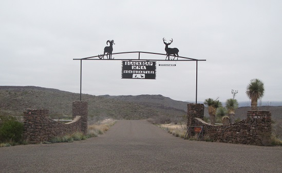 Black Gap WMA Entrance