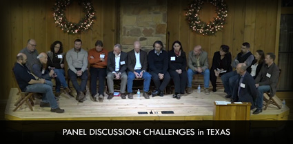 Panel Discussion: Challenges in Texas