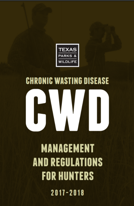 CWD Management & Regulations for Hunters Brochure