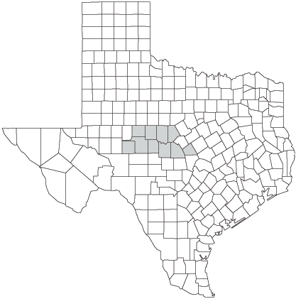 Distribution of the Concho Water Snake (Nerodia