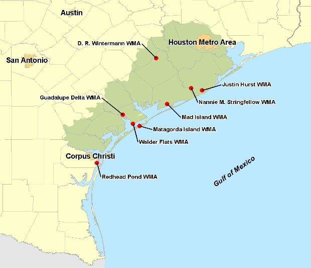 TPWD: Wetland Conservation and Management for the Texas Central Coast