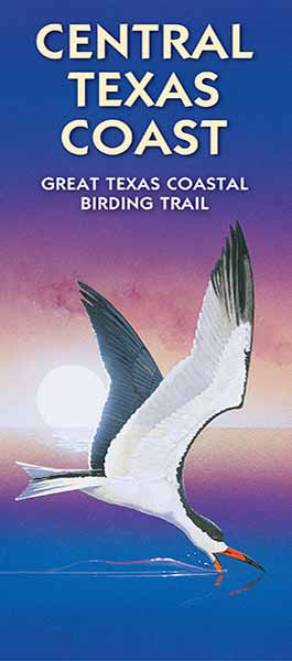 Central Texas Coast Wildlife Trails map