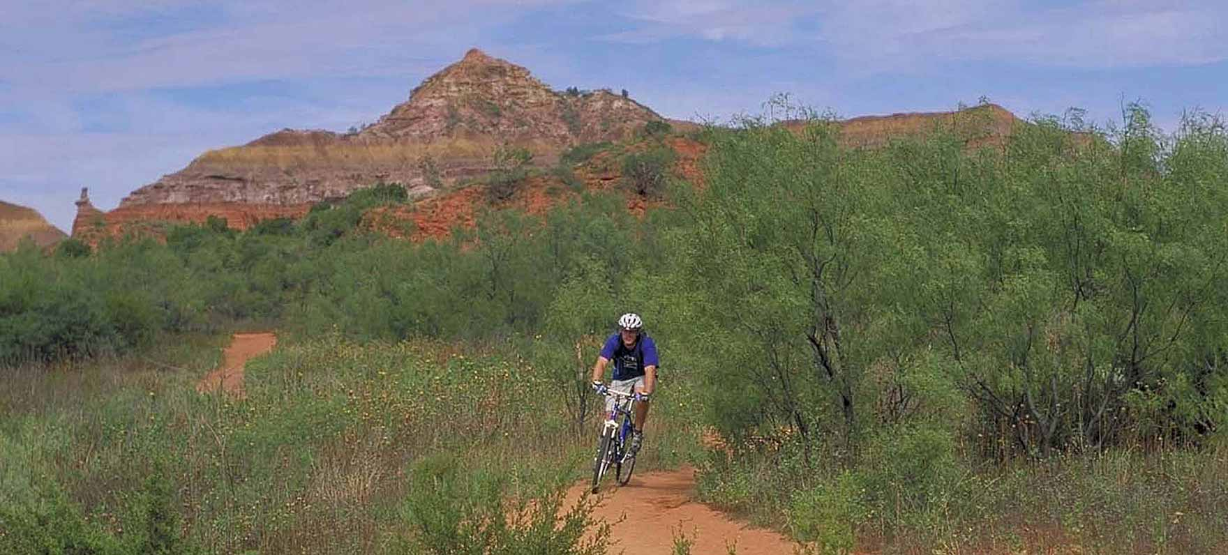 Palo Duro bicycling
