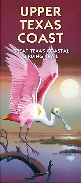 Upper Texas Coast Wildlife Trails map