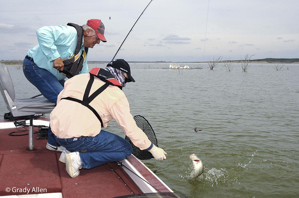 Texas parks wildlife department for Falcon lake fishing