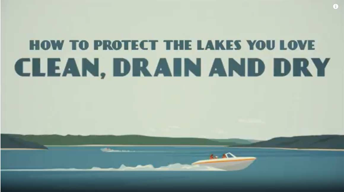 Clean, Drain, Dry Your Boat