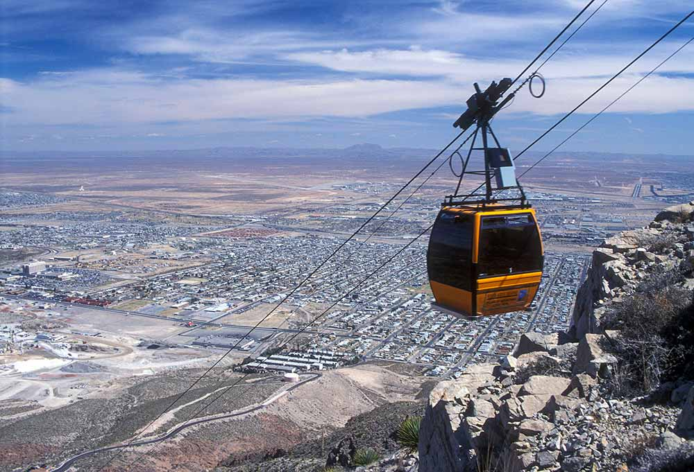 Wyler Aerial Tramway at Franklin Mountains