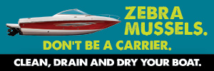 Don't be a carrier: Clean, drain and dry your boat.