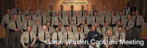 Game Warden Captains