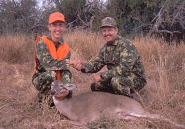 Hunters help to control deer populations
