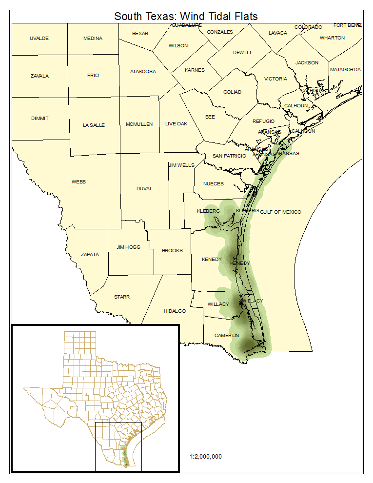 South Texas: Wind Tidal Flats