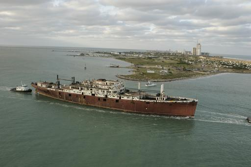 Usts Texas Clipper South Padre Island Texas