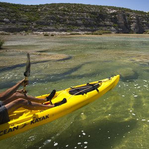 Kayaker on Devils River