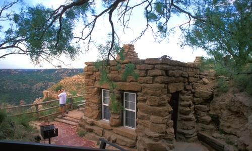 State parks getaways texas parks and wildlife e newsletter for Cabins near palo duro canyon state park