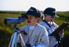 Young Coastal Birders on a Great Texas Birding Classic Youth Team