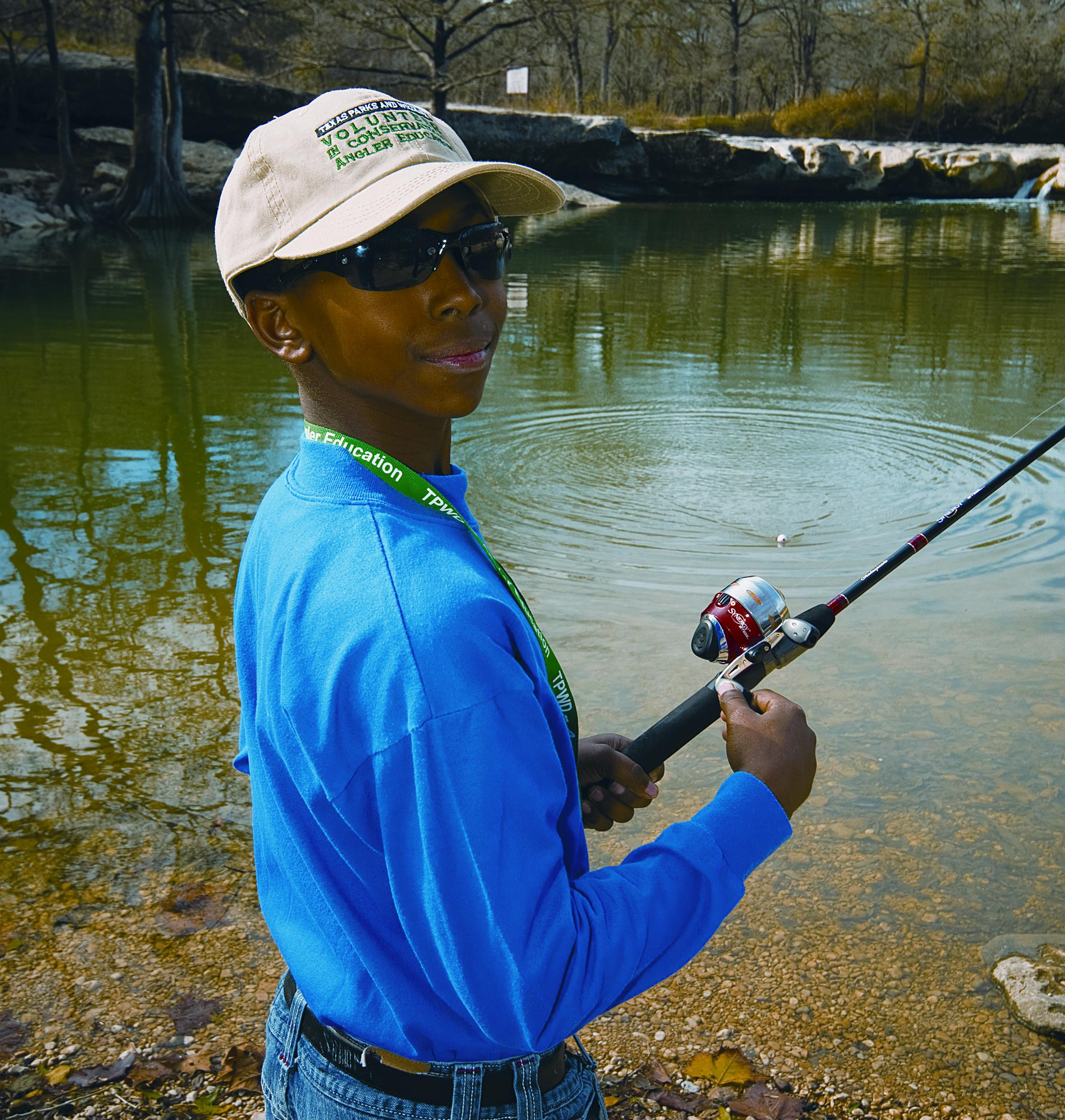 Tpwd news images for Fishing in houston
