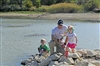 Family Fishing at Cedar Hill State Park