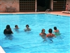 Teens Enjoying Lbjshs Pool