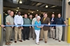 Barbara Parker Leads the Hatchery Dedication Ribbon Cutting