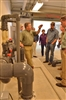 Todd Engeling Leads Hatchery Tour