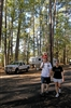 Family Hiking Near RV at Daingerfield State Park