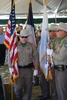 Justin Hurst WMA Dedication TPWD Color Guard