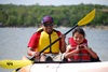 Kayaking Lake Mineral Wells State Park