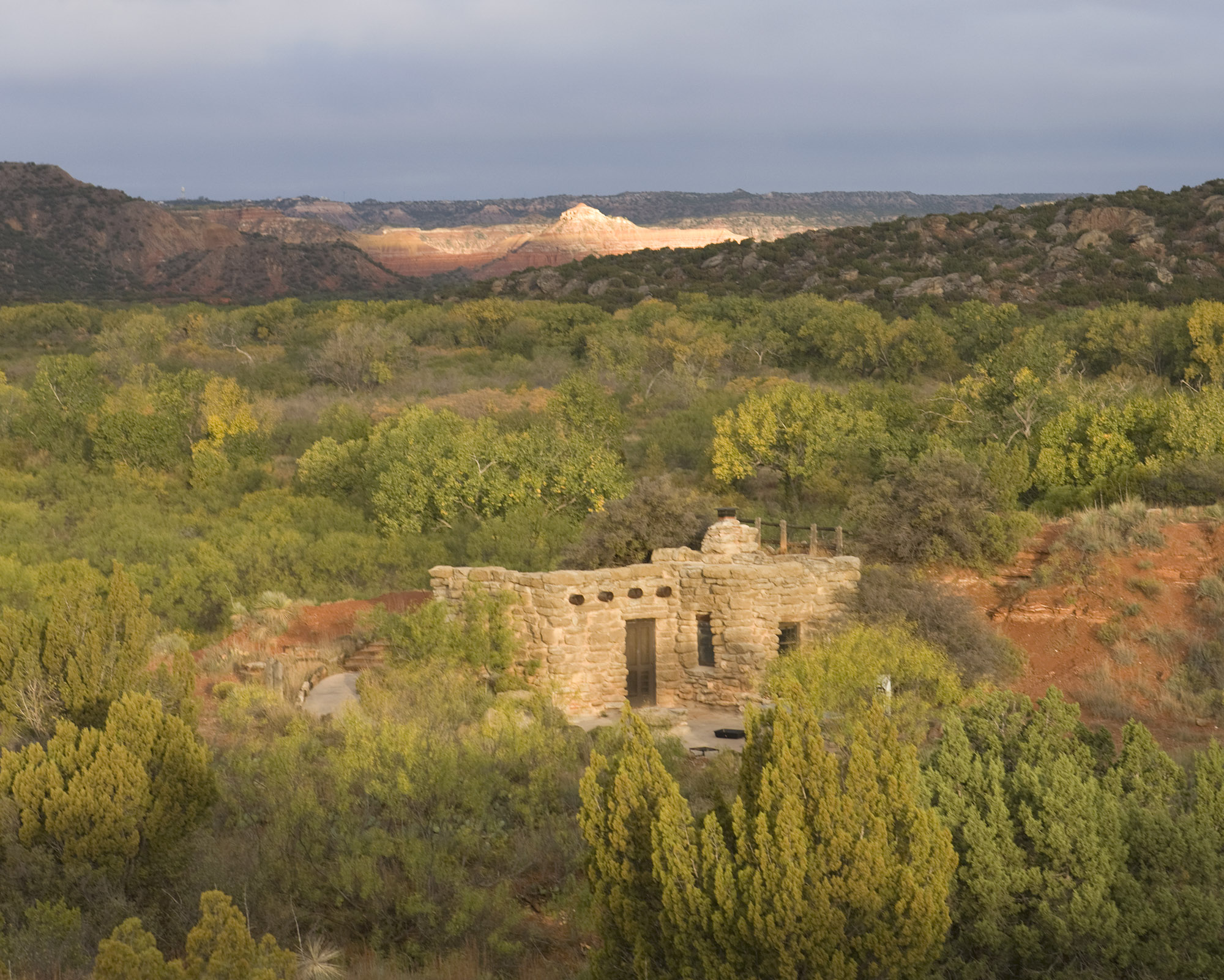 Palo Duro Canyon State Park, Image by Earl Nottingham, © Texas Parks and Wildlife Department