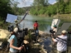 Making of Take Care of Texas Video PSA With Kevin Fowler at Guadalupe River State Park 5-21-13