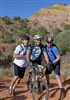 Day 3 George Bush Assisting Warrior on Trail at Palo Duro,