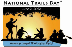 Logo for National Trails Day 2012