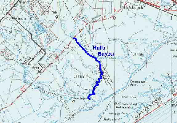 Bayous In Houston Map.Tpwd