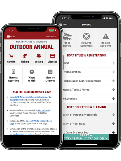 Outdoor Annual Apps