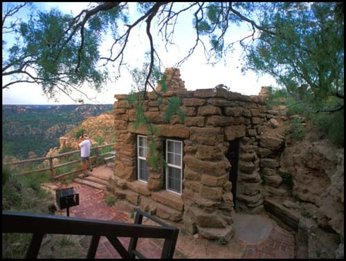 Tpwd a new deal for texas parks html exhibit for Cabins near palo duro canyon state park