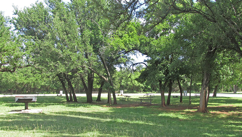 Abilene State Park Campsites With Water And Electricity