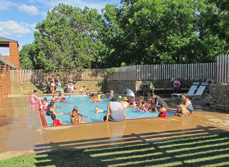 Children's wading pool.