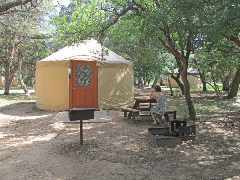Abilene State Park Yurts Five Person Texas Parks