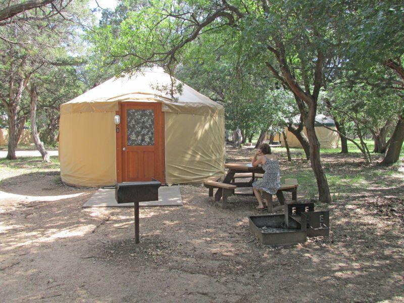 Yurt #1.