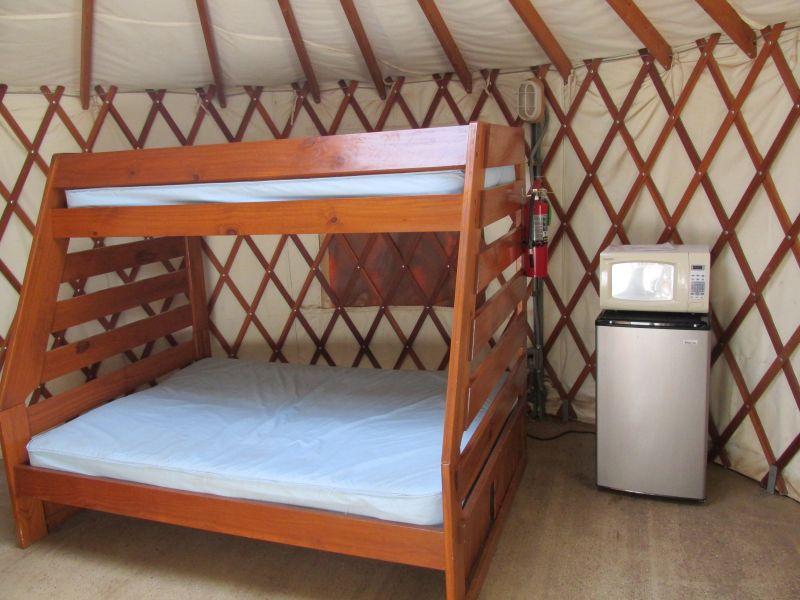 Abilene State Park Yurts 5 People Max Texas Parks