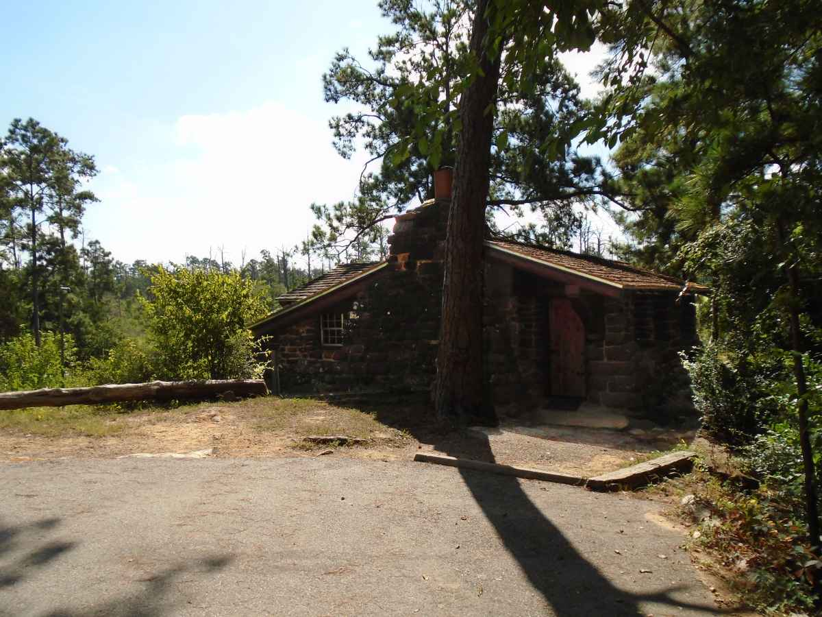 "Ceiling Bike Rack >> Bastrop State Park Cabin #1 ""Sam Houston"" — Texas Parks ..."