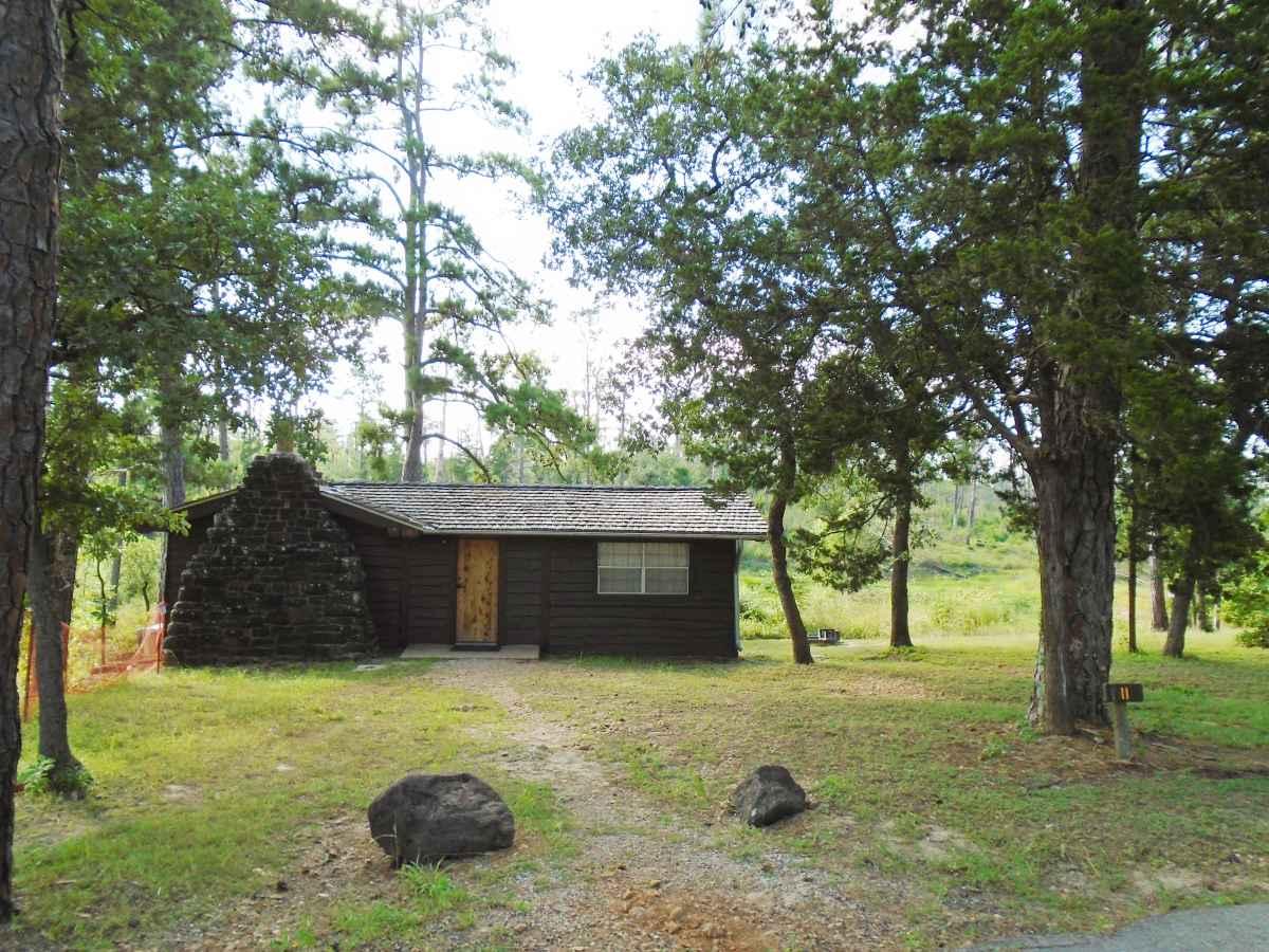 Outside of Cabin 11.