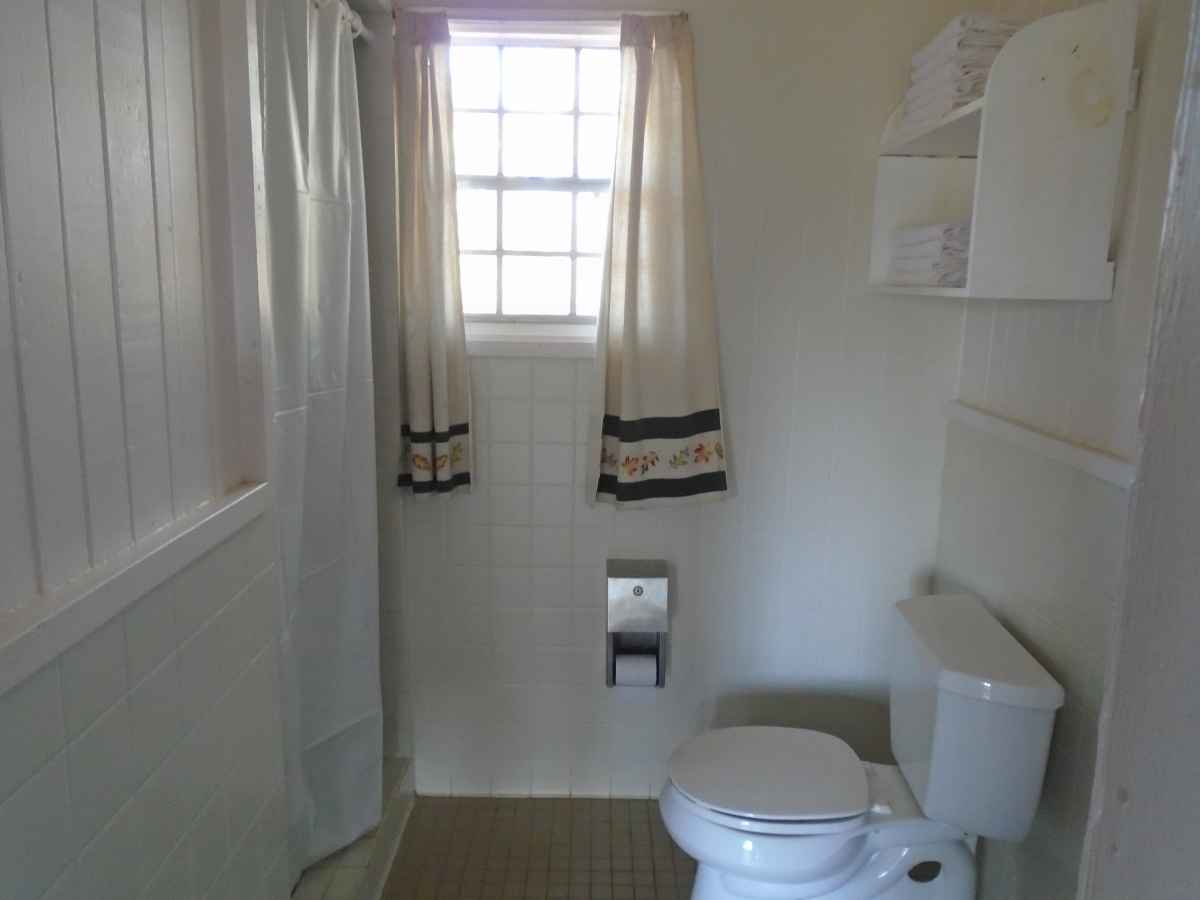 Another view of Bathroom 1 in Cabin 12.